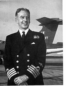 Eric Brown in navy uniform