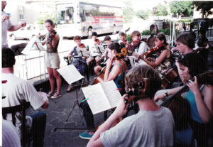 Orchestra at Pellicciari