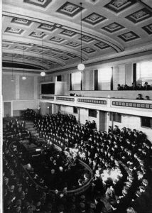 The old assembly hall