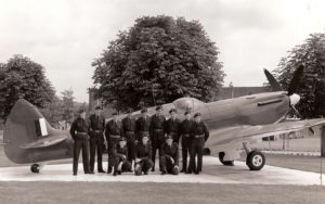 The RHS ATC with Spitfire at RAF Wattisham 26 July 1966