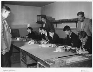RHS Chess Team c1960