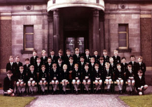Royal High School of Edinburgh 1962, Miss Roy's class