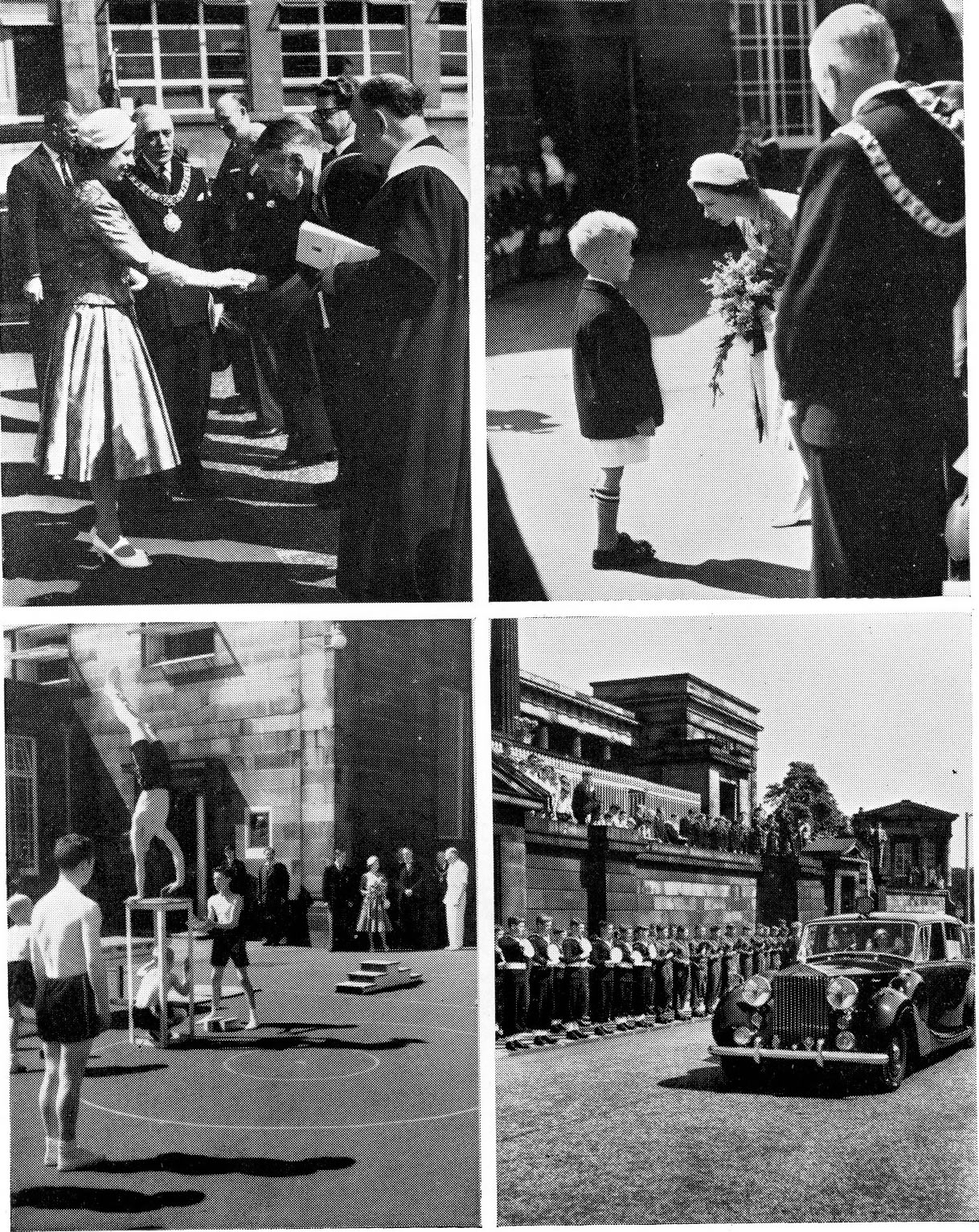 Royal Visit 4th July 1958
