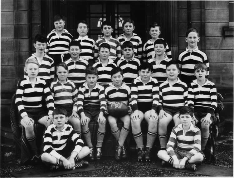 Royal High School Rugby Team 1962