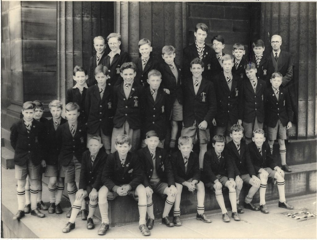 First Year 1955 or 1956 with fom master Fred Scott