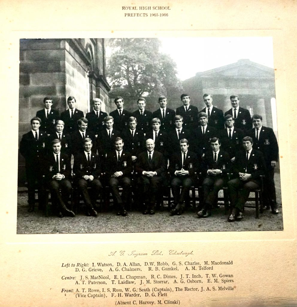 Prefects 1964 - 65