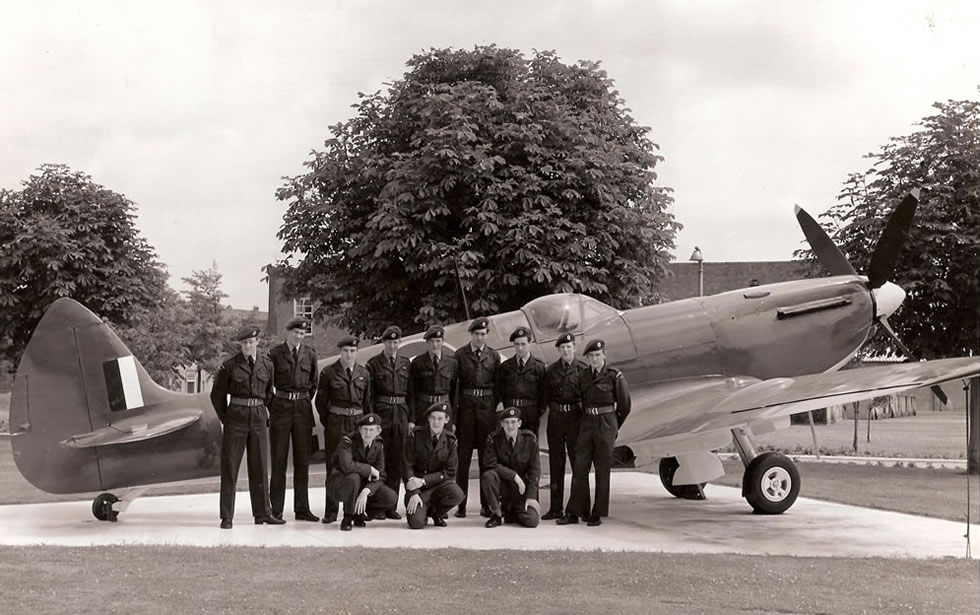 The RHS ATC with Spitfire