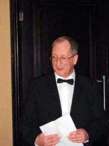 Former rector George Smuga
