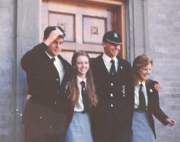 1985 Leavers Days MacGuire and Brown