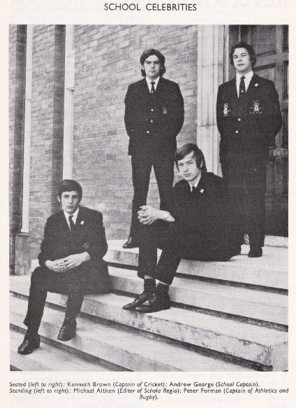 Leading boys in 1970